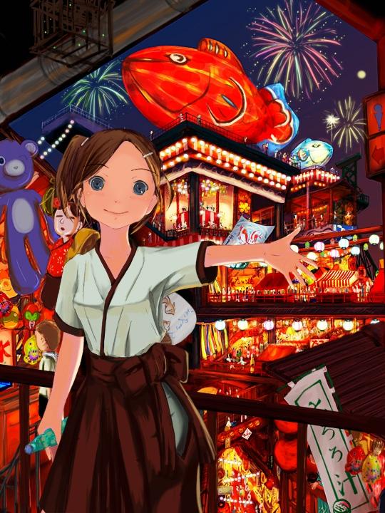夏祭りイラストコンテスト2009 祭百貨 お絵描きjp